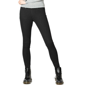 DUER Performance Denim Bukser Skinny Damer, black 100